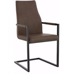 Succo Armchair 2P - Brown PU