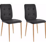 Largo chair-Anthracite/Oak