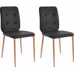 Largo chair-anthracite / oak
