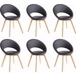 Oregon Chair 6 pack - black