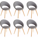 Oregon chair 6 pack - gray