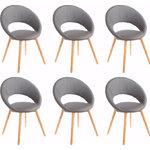 Кресло Oregon 6 pack - серый