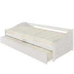 Donna Bed - White/Lacquer
