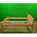 Light Solid Wood Bed (140x200)