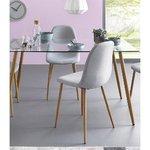 Светло-серый стул