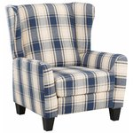 Aladdin Armchair Fabric - Blue