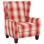 Aladdin Armchair Fabric - Red