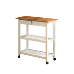 Alaska Kitchen trolley White/Honey