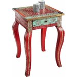 Red small coffee table (in box, whole)