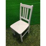Valge peitsiga täispuit tool