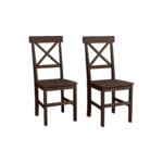 Nicoline Chair 2 pack-Havana/lacquer