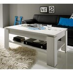 White coffee table (whole, in box)
