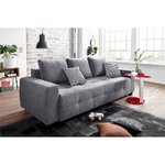 Anthracite sofa bed (whole, specimen hall)