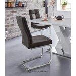 Ruskea pehmeä tuoli (lale)
