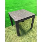 Small gray dining table