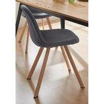 Pilkai ruda kėdė (veneto)