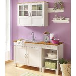 White sink cabinet (alby) (box, whole)