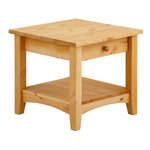 Chub Couchtable 1 drawer Small -Stain/Wax