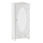 Hardy cabinet white / mirror - white / lacquer