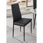 Juoda kėdė (smėlio spalvos)
