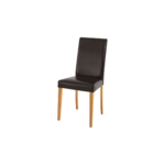 Liva PU chairs Brown-Stain/wax