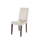 Liva PU Creme chairs-Havana/lacquer