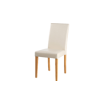 Liva PU Creme chair-Stain/Wax