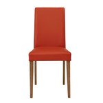 Blake PU chairs Terracot- Wild Oak