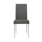 Blake PU chairs Grey - White