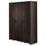 Amanda Wardrobe 3 Doors Havana lacquer