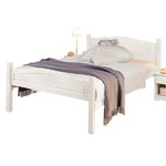 Barney Bed 90x200 white lacquer