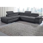Pilka didelė sofa