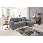 Серый угловой диван (quin)