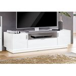 White-gray tv cabinet (atlanta) (full box)