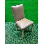 Helepruun täisnahast pehme tool