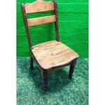 Pruun täispuit tool