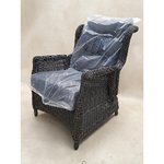 Gray recliner garden chair (jysk)