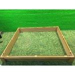 Светло-коричневая база для дивана Jensen Mistral 160x200