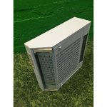 Small white air cleaner lighting