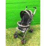 Gray Foldable Baby Stroller Bravo