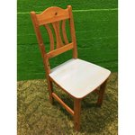 Light solid wood chair