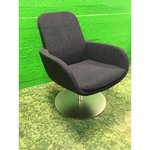 Dark gray swivel design, Armchair BoConcept Cocoon
