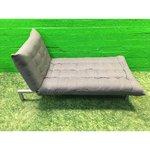 Серый раскладной диван-кровать (85x180) (серьезные ошибки красоты)