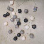 LED-Valgustusega Puuvillane Jõuluehe (Koodi)