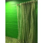 Green Nylon Curtain