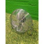 Bojāts liels sudraba ventilators Moretti TX-18FS (bojāts)