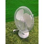 Valge lauapealne ventilaator (Terve)