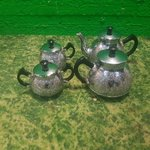 Metal Teapot Set (Beer Foam)