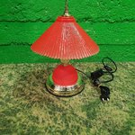 Little Red Table Lamp