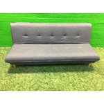 Gray sofa bed (hall sample, with beauty defects,)